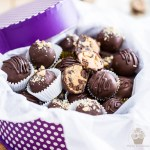 Peanut Butter Cookie Dough Truffles | eviltwin.kitchen