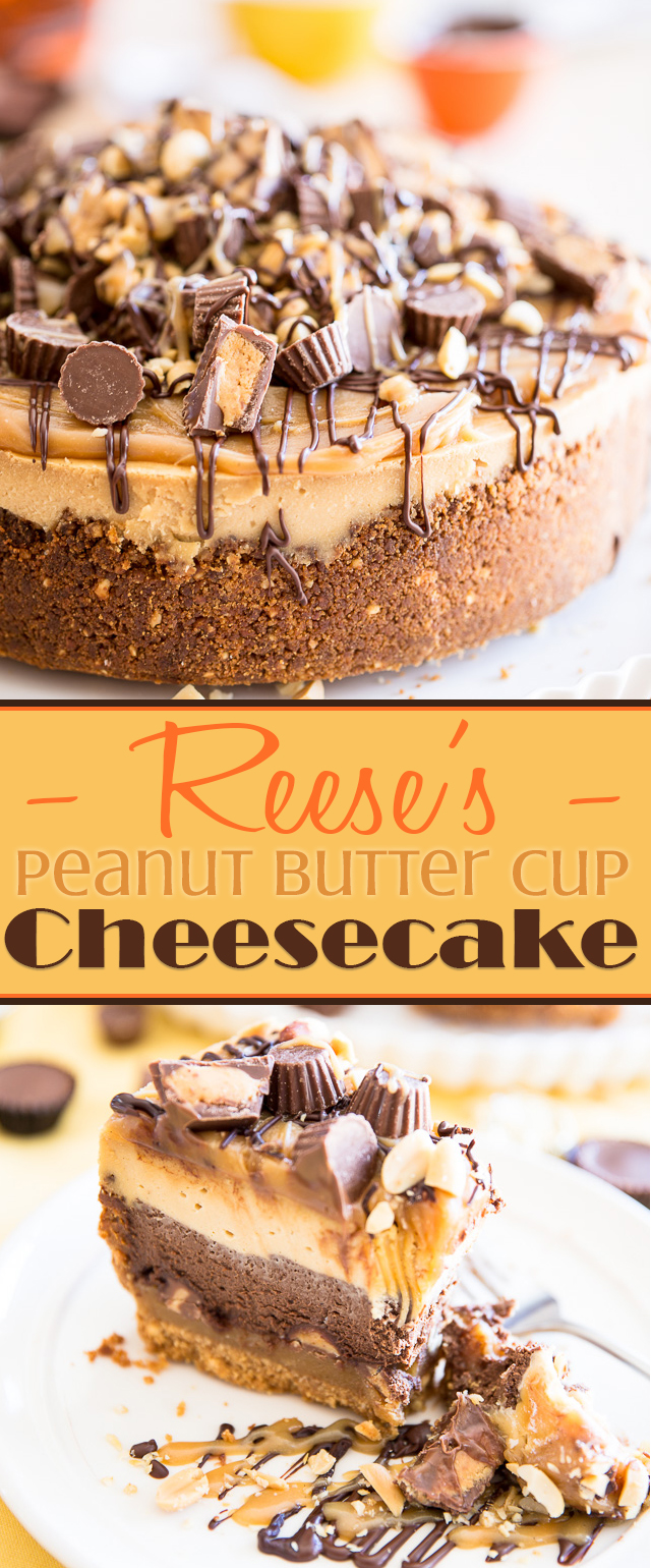 Reeses Peanut Butter Cup Cheesecake | eviltwin.kitchen