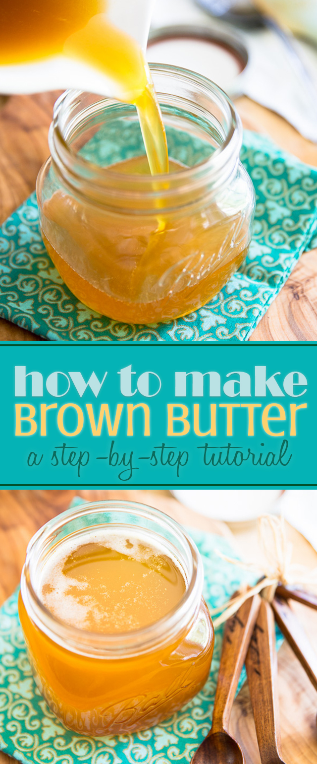 Making brown butter really isn't complicated as it may seem. Learn how to make your own in this easy to follow step-by-step tutorial.
