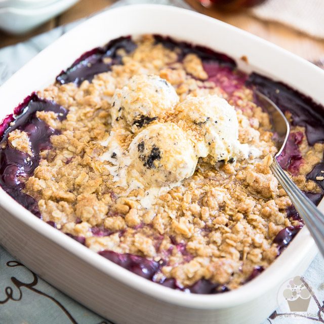 Very Berry Maple Crumble
