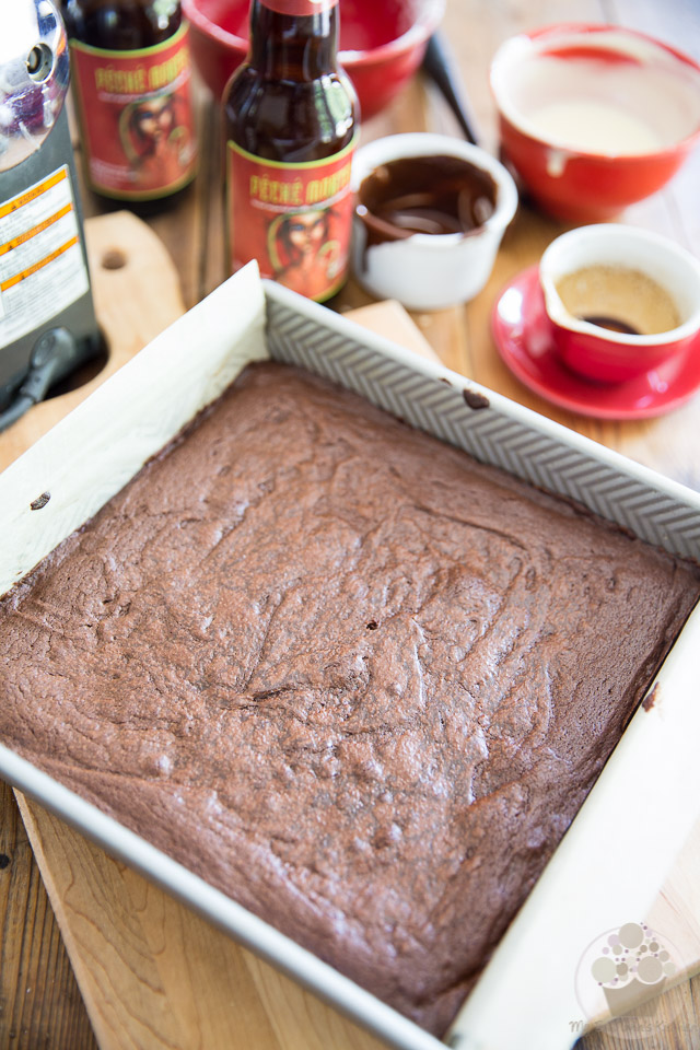 Stout Dark Chocolate Brownies by My Evil Twin's Kitchen | Recipe and step-by-step instructions with pictures on eviltwin.kitchen