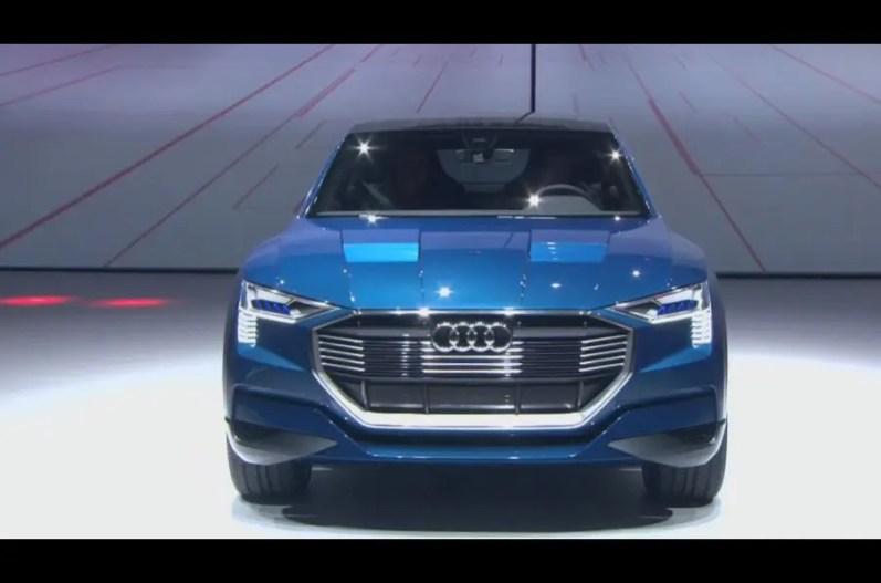 Audi E Tron Concept 2015 Show Frankfurt 15 side