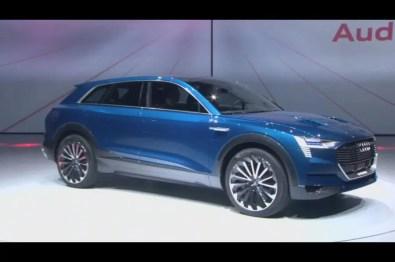 Audi E Tron Concept 2015 Show