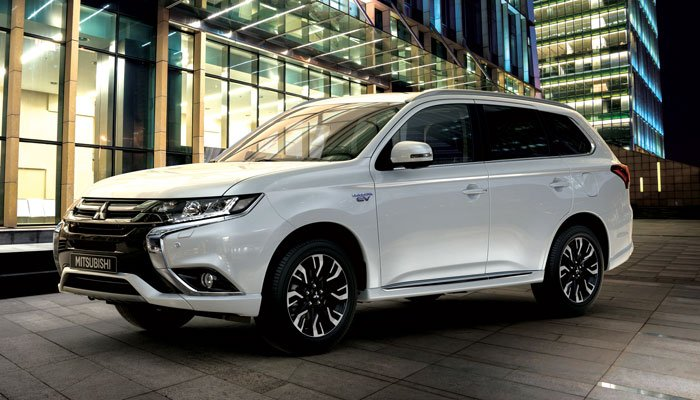 Outlander PHEV: The world's first plug-in hybrid SUV