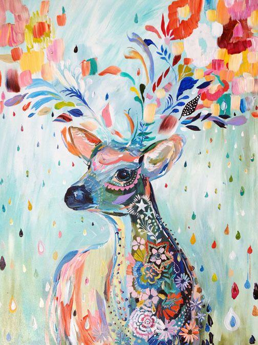 colorful_deer