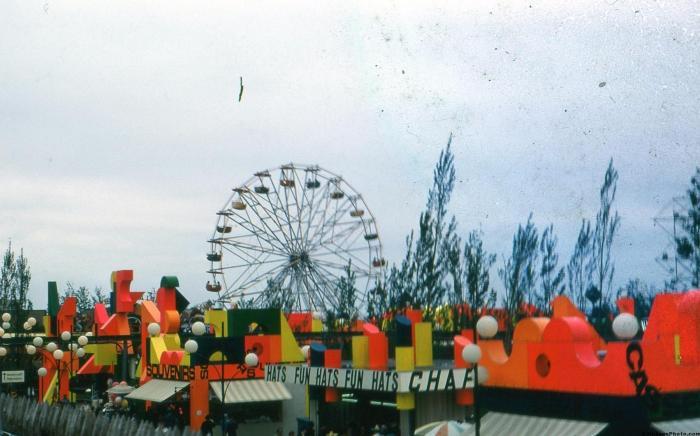 Expo 67 Fair rides