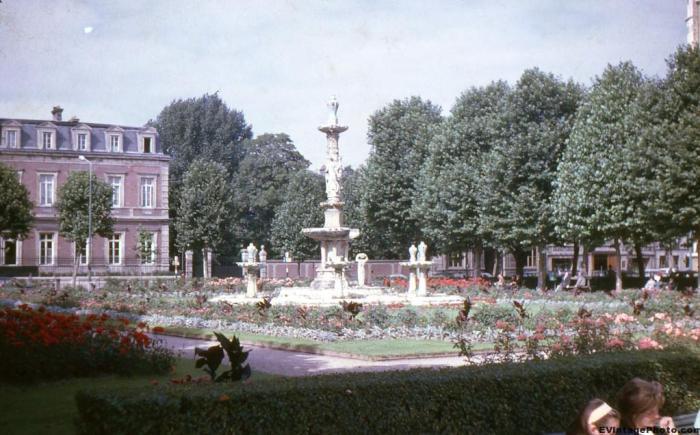 Fountain in Paris France
