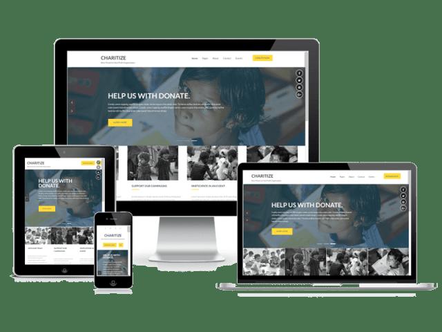 Premium WordPress Themes: Charitize Pro