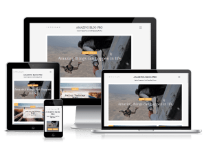 free blogging theme