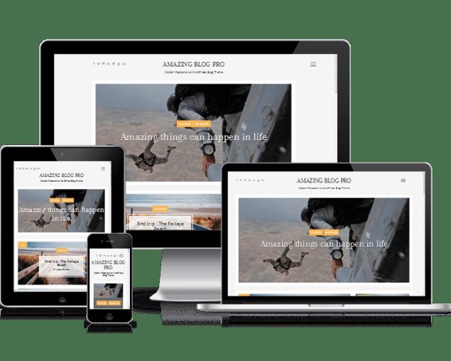 free blogging theme