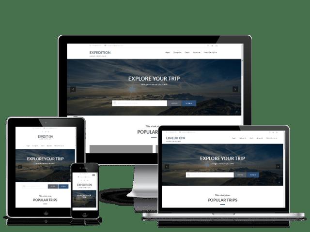 Premium WordPress Themes: Expedition Pro