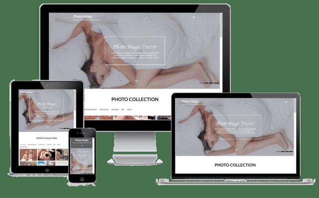 Premium WordPress Themes: Photo Magic Pro