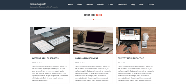 eVision Corporate: blog