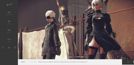 notable websites using wordpress: Platinum Games