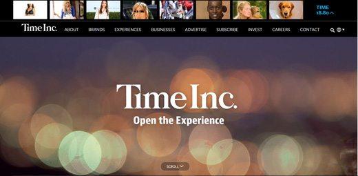 notable websites using wordpress: Time Inc