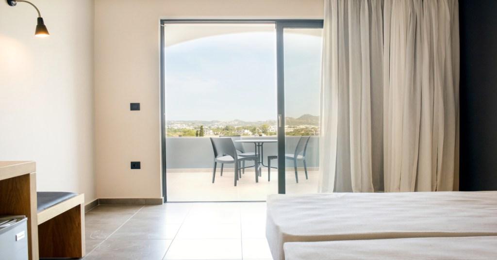 Evita Resorts & Hotels Double Room Balcony View Faliraki Rhodes Greece