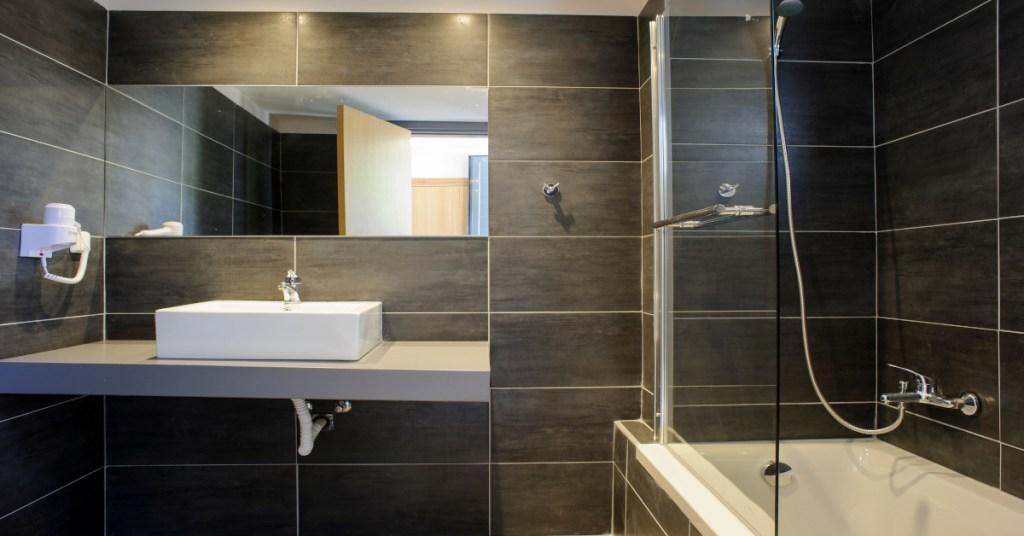 Evita Hotels & Resorts Bathroom Shower Faliraki Rhodes Greece