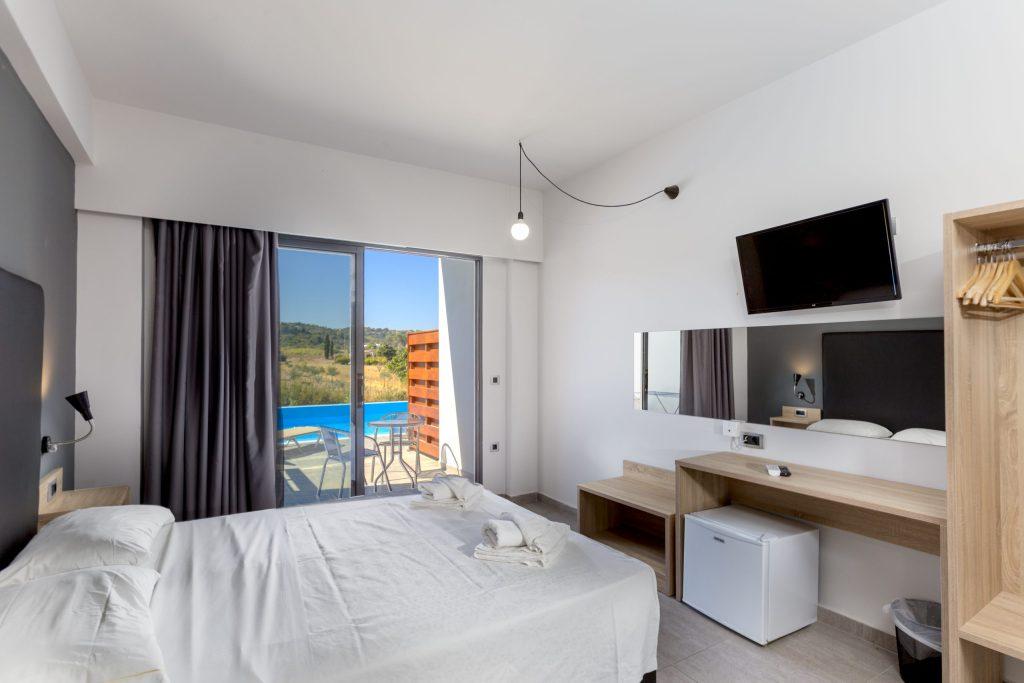 Evita Resort Sharing Pool Room Faliraki Rhodes Greece