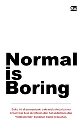Review Buku Normal is Boring  (1/2)