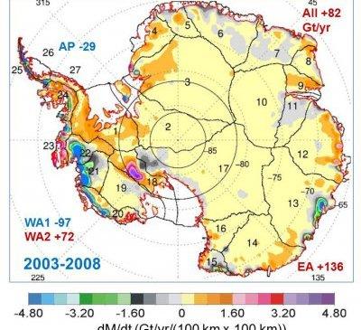 Арктические льды растут скаждым годом