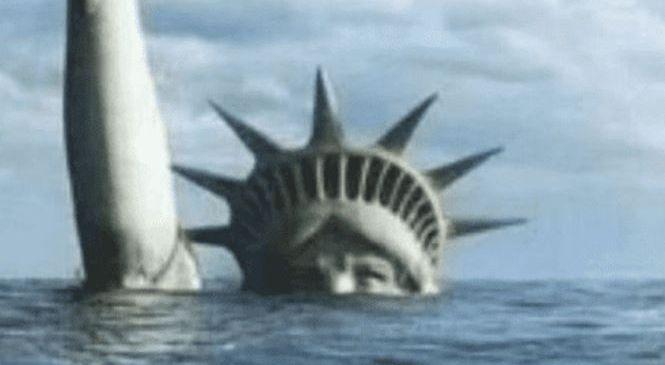 Нью-Йорк уходит под воду.
