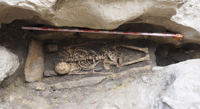Испано-вестготская могила в Охо-Гуаренья — место упокоения отшельника, искавшего уединения, когда пришли мавры?