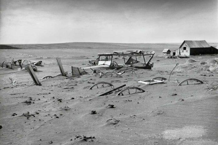 Лето 2021 года побило рекорд жары, установленный во время пыльной чаши 1936 года