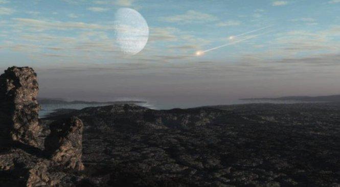 Как астероид и комета могли задержать эволюцию атмосферы