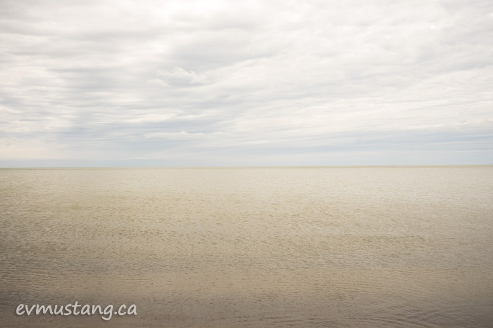 image of port burwell beach looking out over the water