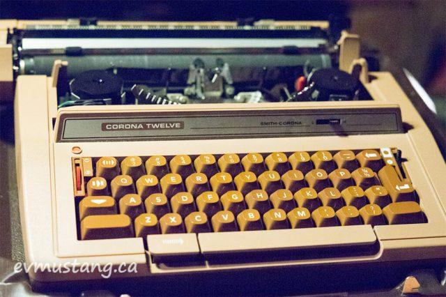 image of corona typewriter