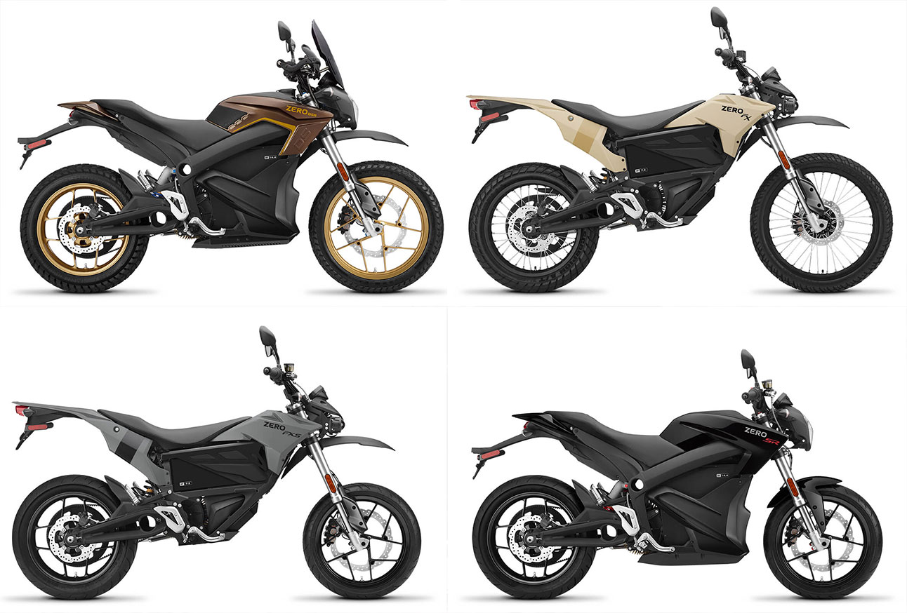 Zero Srf Electric Motorcycle Is 80 Kw Monster With