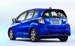 honda fit electric vehicle