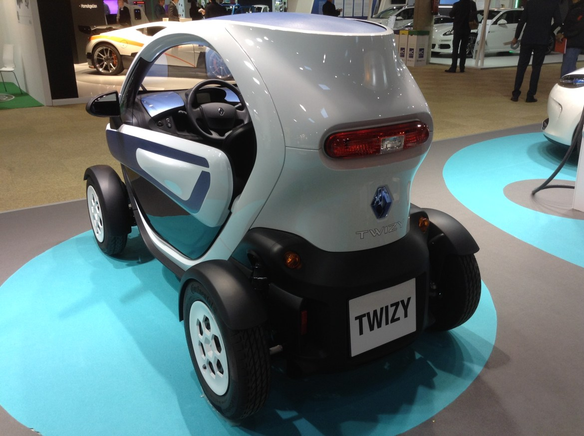 Renault Twizy Back