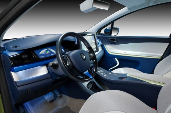 The interior of the Renault 'Next Two.' Image #5.