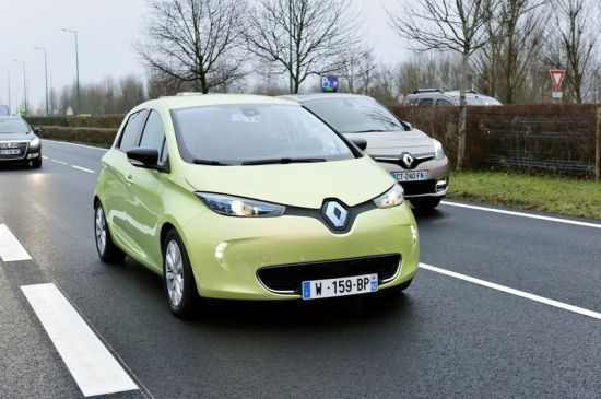 Renault's autonomous EV concept car is called the Next Two.