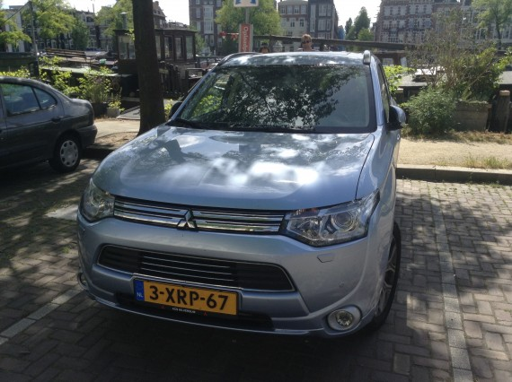Mitsubishi Outlander Plug In Netherlands 9