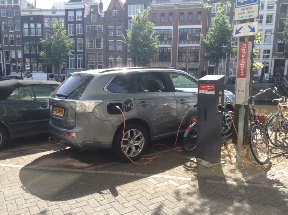 Mitsubishi Outlander PHEV Netherlands Holland