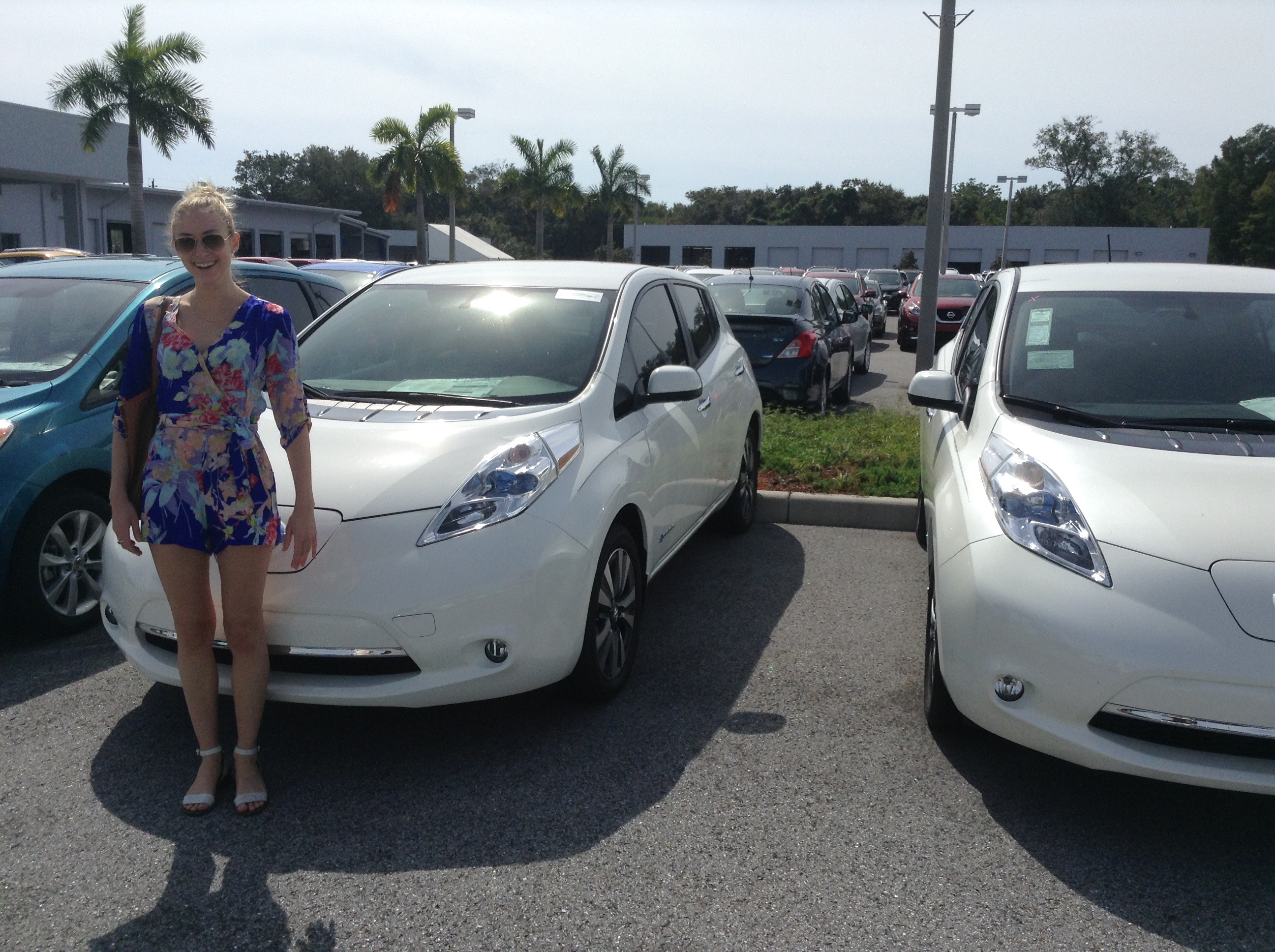 drive electric gas nissan car leaf owners more than combustion