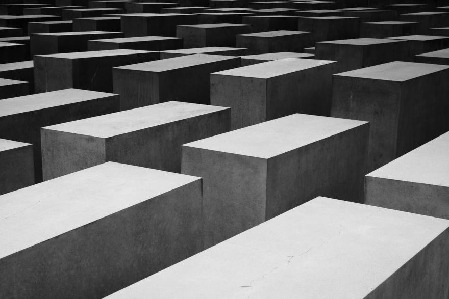 Holocaust Memorial by Andrea Nardi via Unsplash