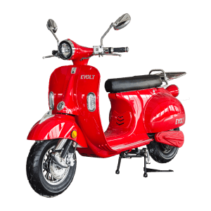 elmoped, röd