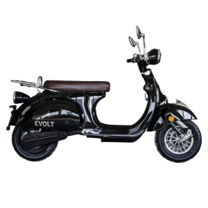 elmoped, svart