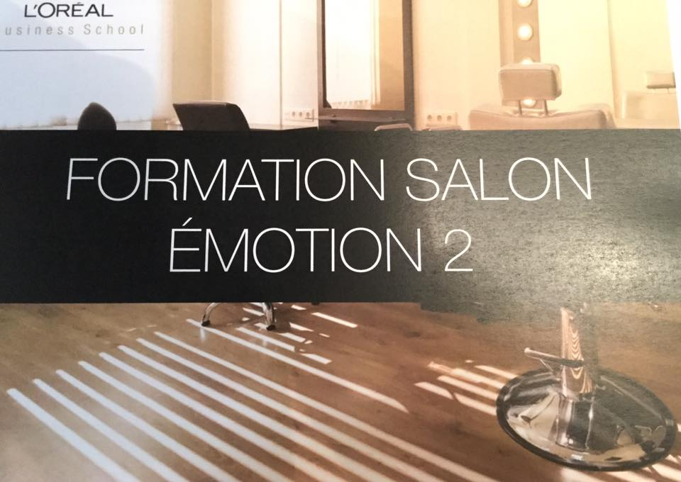Evolutif Coiffure au salon L'oréal Emotion 2