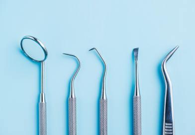 Dental instruments. Dentists tools.
