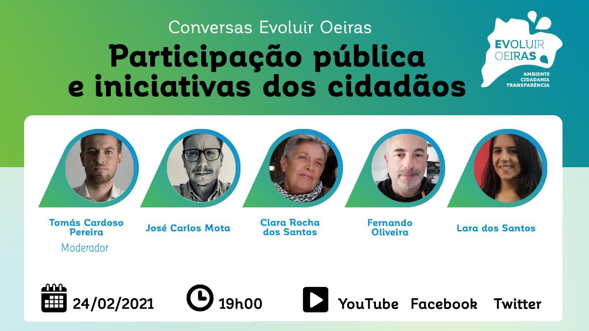 cartaz 4 conversas de oeiras 24/02/21