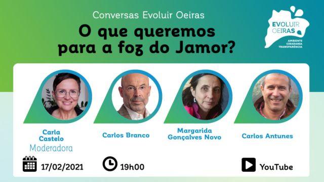 cartaz 3º conversas Evoluir Oeiras