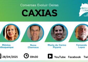 Cartaz Conversa Evoluir Oeiras Caxias