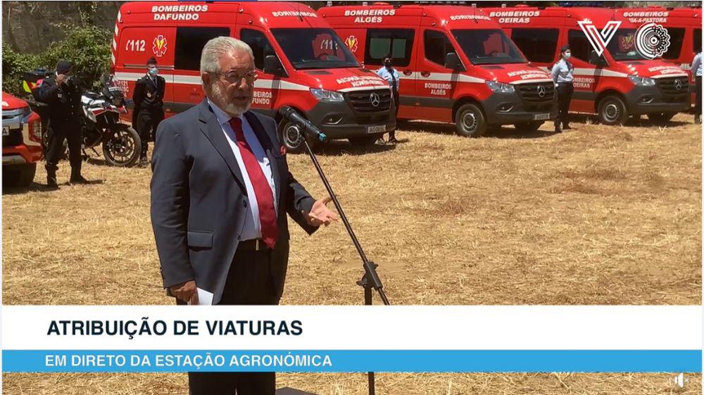 Isaltino Morais camiões Estação Agronómica