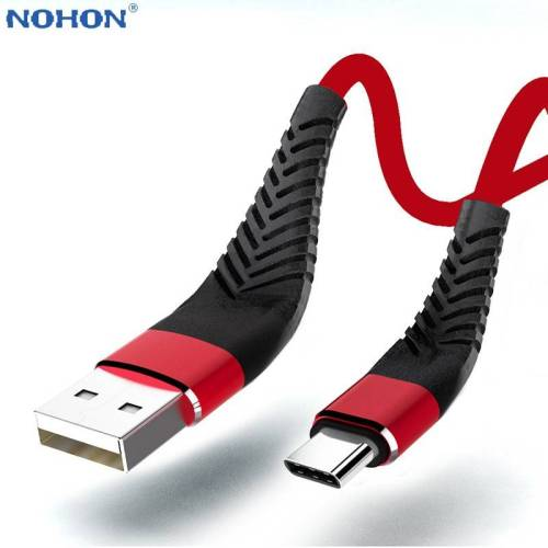 USB Data Cable For Android Phone – Wire Cord Fast Charge USB Phone Cables cb5feb1b7314637725a2e7: Black|Blue|Red