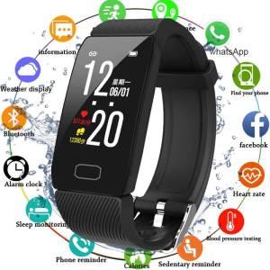 Heart Rate Monitor Fitness Bracelet Sport Tracker Smart Band Watch Wrist Watches cb5feb1b7314637725a2e7: Q3-Add 4 color strap Q3-Add blue strap Q3-Add gray strap Q3-Add purple strap Q3-Add red strap Q3-Black Q3-Blue Q3-Gray Q3-Purple Q3-Red R1-Black R1-Gold R1-Sliver