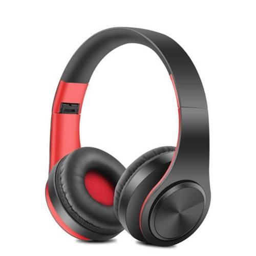 Portable Wireless earphones Bluetooth Stereo Earphones & Headphones cb5feb1b7314637725a2e7: black green|black pink|black pink-6|Black Red|white blue|white green|white orange|white pink|white red